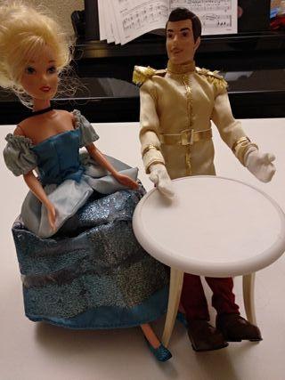 cenicienta y el príncipe