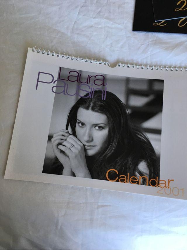 Calendario Laura.Calendario Laura Pausini 2001 De Segunda Mano Por 4 En
