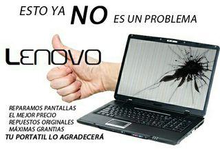 Reparar pantalla portátil Lenovo