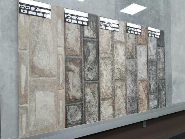Azulejo para pared imitaci n piedra gres de segunda mano - Gres imitacion piedra natural ...