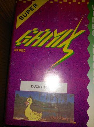 Antiguo juego Duck stories, consola gamix, nes , nintendo , famicon,