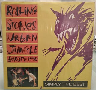 DISCO THE ROLLING STONES URBAN JUNGLE 1990