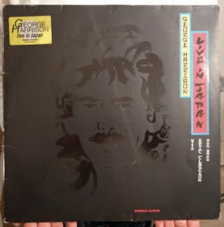 DISCO GEORGE HARRISON LIVE IN JAPAN