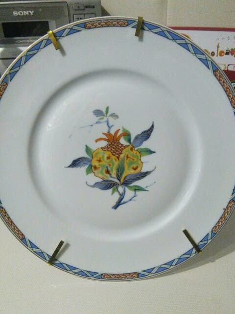 Plato decorativo porcelana francesa de Limoges
