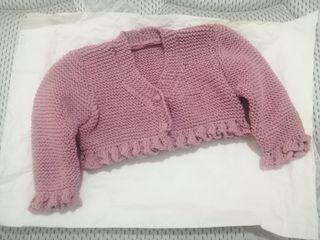 Chaqueta niña/o crochet