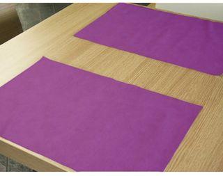 Caja 500 manteles individuales lila 30x40cm