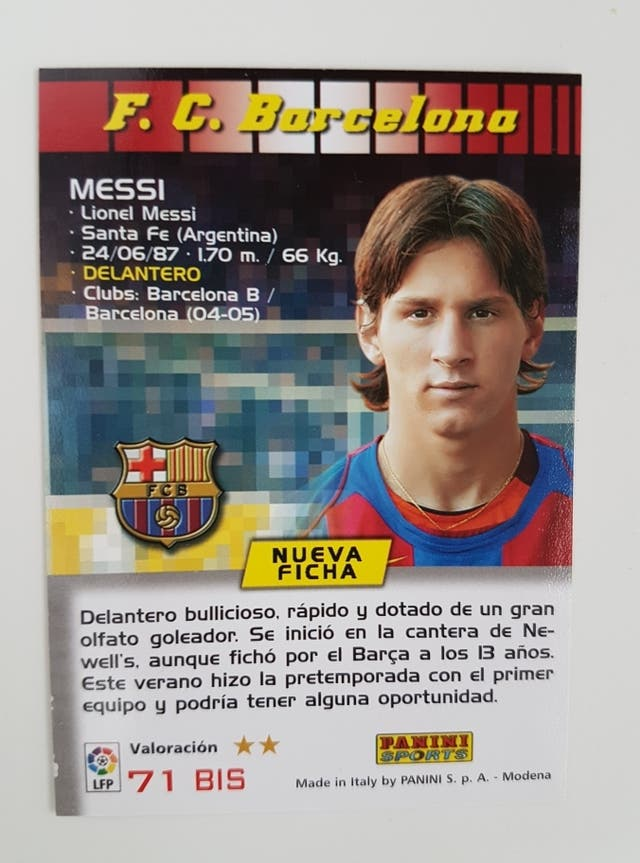 ¿Cuánto mide Lionel Messi? - Estatura y peso - Real height - Página 6 I437886042