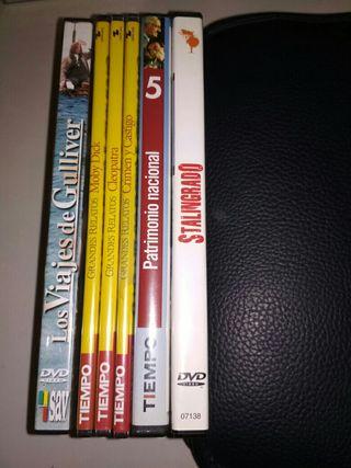 DVD pelis varios títulos
