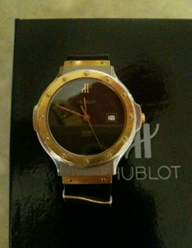 7fa33c4eefb0 Reloj Hublot acero y oro de segunda mano por 1.600 € en Barcelona en ...
