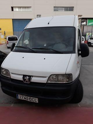 furgoneta Peugeot boxer hdi