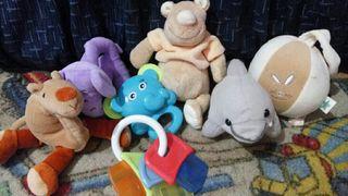 lote de juguetes de bebé