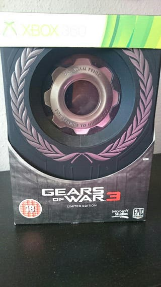 Gears of war 3 Limited Edition Sin juego