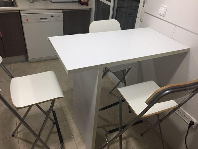 Mesa Barra cocina de segunda mano por 60 € en La Cañada en WALLAPOP