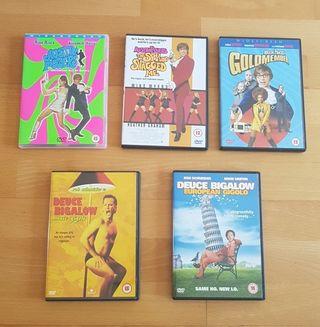 Pack of Original DVD Comedies - Powers & Bigalow
