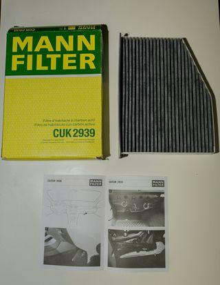 Filtro de habitáculo con carbón activo CUK2939