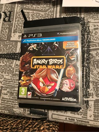 Lote Ps3 Angry Birds Star Wars y Adventure Camps