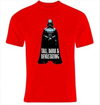 Camiseta Star wars Tall, Dark & Devastating