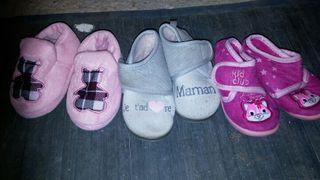 zapatillas casa niña talla 21