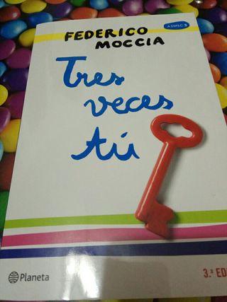 """Libro """"Tres veces TÚ"""" ,tercera parte de 3MSC"""