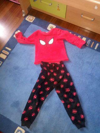 pijama spiderman gordito 5 años