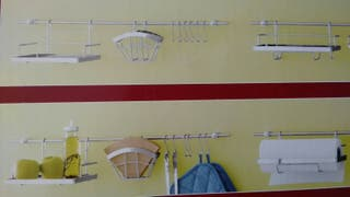 Barra para utensilios de cocina