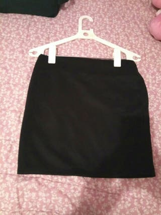 falda negra talla 38-40