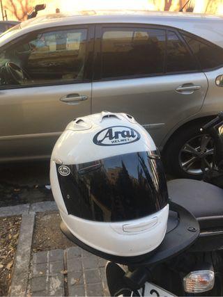 casco arai rx7 gp blanco