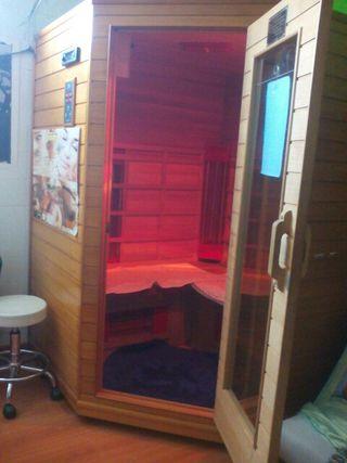 sauna terapeutica y adelgazante