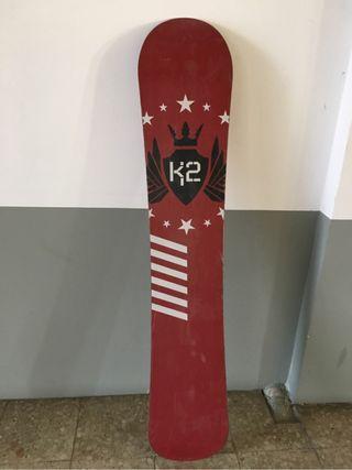 Tabla snowboard k2