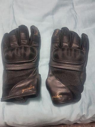 guantes moto mujer