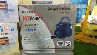 Aspirador de cenizas 1200W con filtro