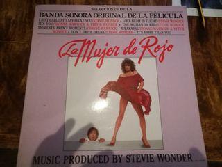 Disco vinilo BSO «La mujer de rojo»