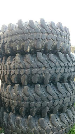 ruedas de taco 4x4 33 pulgadas