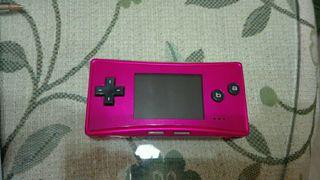 Consola nintendo game boy micro