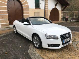 Audi A5 Cabrio 2.0TFSI nacional libro revisiones