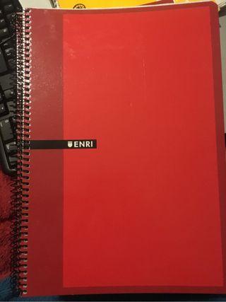 Cuadernos ERNI 100 h