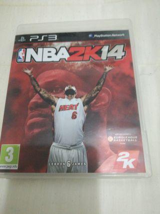 Juego ps3 NBA