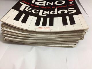 Curso de piano y teclado de 60 libros y más