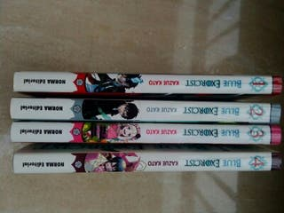 Blue Exorcist - Tomos 1 al 4