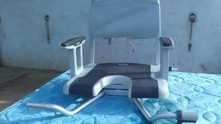 silla adaptador bañera adultos giratoria
