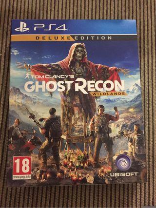 Ghost recon ps4 edición deluxe