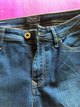 Pantalon talla 38 azul Skinny