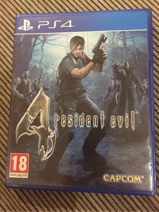 Resident evil 4 ps4 remastered
