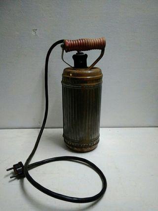 Antiguo calientacamas electrico