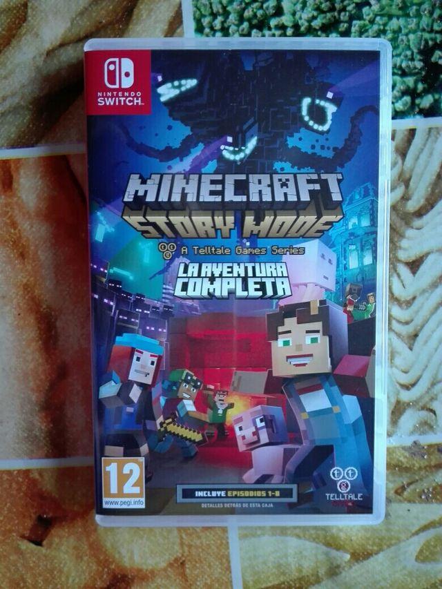 Juego De Minecraft Story Mode Para Nintendo Switch De Segunda Mano