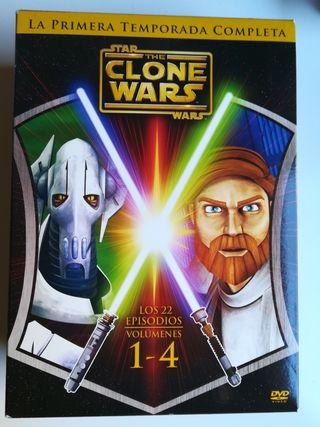 The clone wars. Temporada 1.