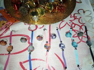 pulsera y anillo mandala