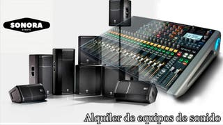 Alquiler de altavoces / Discomobil / Dj