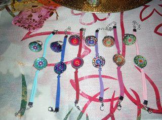 anillo y pulsera mandala