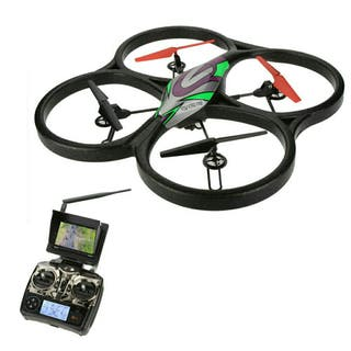 DRON GIGANTE 60x60 CAM HD FPV 5.8 PROFESIONAL MONI